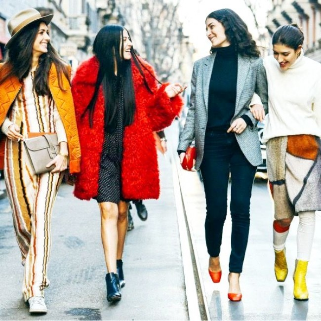 Улица - на острие моды