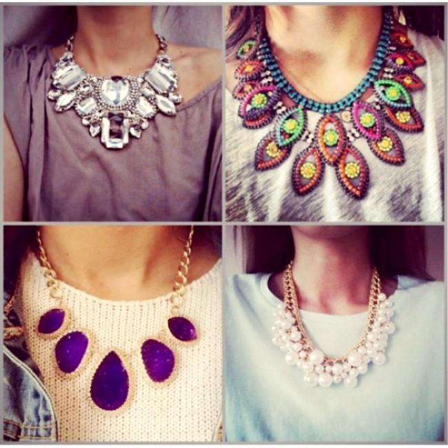 Массивное ожерелье - ультрамодный тренд