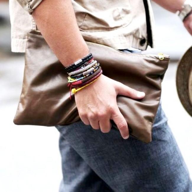 Мужские браслеты из каучука