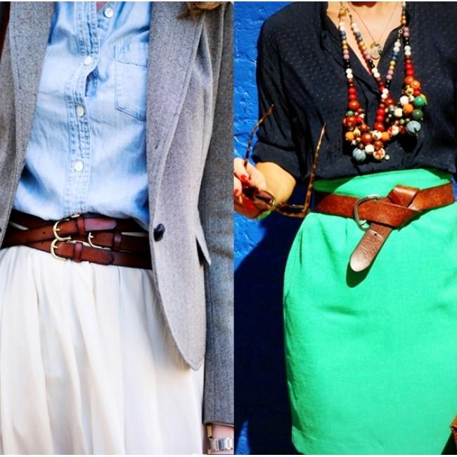 Советы моднице: женские широкие ремни