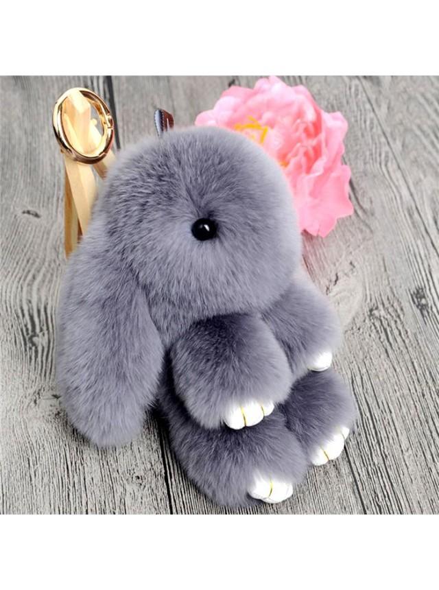 """Брелок """"Кролик"""" (Серый)"""