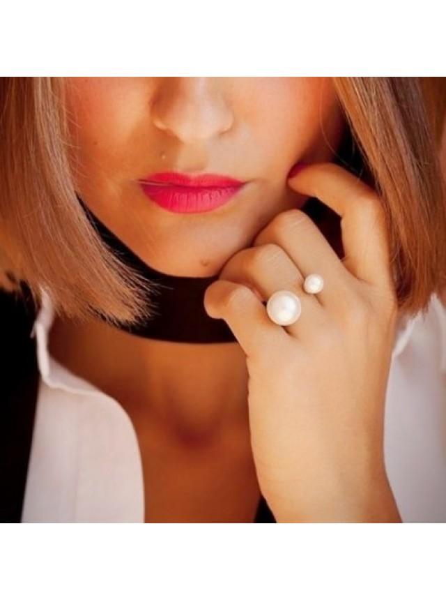 Кольцо в стиле Dior (Золотистое)