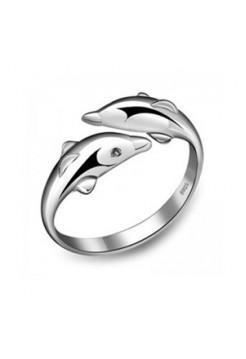 """Кольцо """"Делфины"""""""