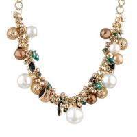 "Ожерелье в стиле Dior ""Шик"" (Белый жемчуг)"